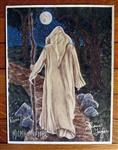 Elder Staff Signed Print from the Hidden Path Oracle Deck