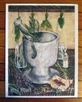 Mortar and Pestle Signed Print from the Hidden Path