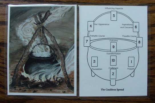 Spread Card- Cauldron
